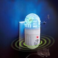 Repellent Atomic Bug Zapper Ultrasonic Pest Repeller Insect killer US Plugs Tool