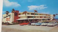 Vintage Castaway Beach Motel Daytona Beach Florida   1950s Cars    P99