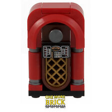 Lego JUKE BOX-musique jukebox pour Pub, diner, restaurant Meubles. custom NEUF