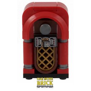 Juke Box - Music Jukebox for Pub, Diner, Restaurant furniture   All parts LEGO