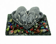 Souvenir Rats Love Couple Symbol Year Figurine Russian Gift Marble Natural Snake