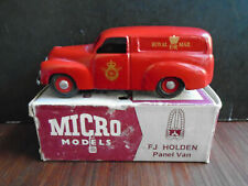 Holden FJ Panel Van NZ Royal Mail  1/43 Micro Models New Zeeland RARE TBE MM404
