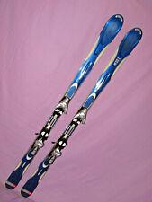 K2 Apache V-Force all mtn skis 167cm w Salomon s811 Poweraxe Sport ski bindings~