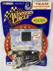 2001 Winner Circle Rusty Wallace Team Authentics Uniform Fire Suit Rare NASCAR