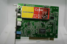 ✔️📺 WORKING - CYBER TV TOP10 SERIES TV TUNER PCI CARD - UK SELLER