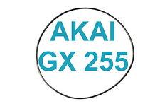 CINGHIA AKAI GX 255 REGISTRATORE A BOBINE BOBINA NUOVE FRESCHE GX255 GX-255