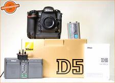 Cámara SLR Nikon D5 Digital Cuerpo y batería y cargador + Free UK Post