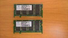 Kit Moduli RAM DDR Nanya da 512MB (2 x 256MB) - SODIMM Pc-2700S 333 MHz CL2.5