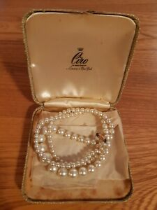 Ciro Pearls With Rose Gold Clasp