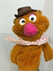 FOZZIE BEAR Muppet HAND PUPPET Jim Hensen SESAME STREET vtg FISHER PRICE #861