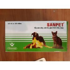 Sanpet Johnsons Beaphar Dog Cat Worming 100 tablets Kill Wormer Dewormer For Pet