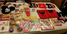 mickey mouse club house birthday party lot 250+ items banners t-shirts ears more