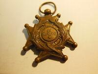 Belle Médaille ancienne Au Mérite en bronze