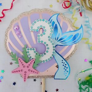 Cake Topper Mermaid Themed