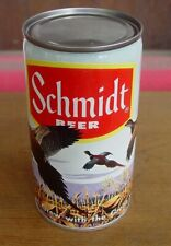 Upside Down! SCHMIDT BEER -- Ring Neck Pheasant -- 12 oz PULL TAB CAN
