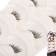 5 Pairs Makeup Half Eyelashes Mini Conner Lashes False Accent Lengthen Eye Lash