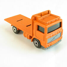 1981 Volvo Flatbed Truck Matchbox Vintage Toy Car - Missing Cable Spool Load