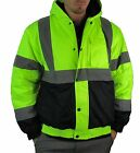 Buffalo Outdoors Full Zip Hi Vis Men's L-3XL Lined Winter Jacket [SALE ONLY $40]