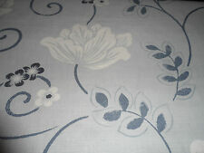 ~ 1.5m LAURA ASHLEY FABRIC ~ LAMORA  PARISIAN BLUE ~ CUSHIONS / BLINDS
