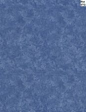 Filigree Echo Tonal cotton fabric BTY Timeless Treasures Blue
