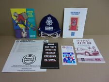 More details for metropolitan police memorabilia mask leaflets & ephemera 1990s 8 items