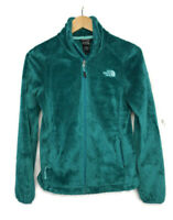 North Face Osito 2 Jacket Emerald Green Full Zip Women's Size XS