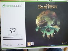 "XBOX ONE S Games Console 1TB - ""SEA OF THIEVES"" Empty Box.With Paperwork."