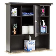 Best Choice Products Bathroom Wall Storage Cabinet w/ Faux Granite (Espresso)