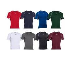 Men's Under Armour Compression HeatGear Gym Shirt S,M,L,Xl,2Xl Bagged