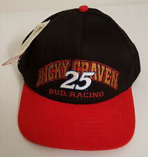 Ricky Craven #25 Bud Racing Nascar Hat. New withTags. Licensed Chase Authentics
