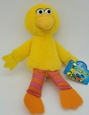 "NWT Sesame Street Big Bird 8"" Plush Doll Stuffed Animal"
