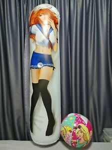 "Anime inflatable ride-on beach ball with hole! 160cm63""-892009"
