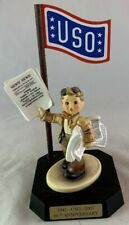Limited Edition Hummel Goebel USO Newspaper Boy Military WWII Extra Roosevelt