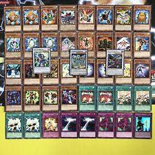Yugioh Yusei Fudo Deck Complete 43 Cards Stardust Dragon Junk Synchron Warrior