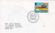 GB 1986 Henley Amateur Rowing Association Special Handstamp FDC VGC