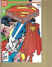 DC Comics 1986 Superman The Man of Steel #5 Of Mini Series ~ Lot of 2 Variations