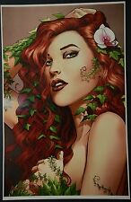 Poison Ivy Art Print Signed by Mike Miller