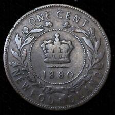 1880 RO - NEWFOUNDLAND - ONE  CENT - BRONZE - Victoria - Nice Coin