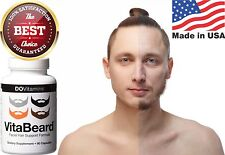 Beard Fast Growth Supplement for Men Facial Hair Thicker Fast Growth 90 Caps