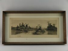 1895 ERNEST C ROST (1867-1940) N.Y. ARTIST ETCHING PHOTOGRAVURE BY J. NELSON
