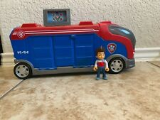 spin master Paw Patrol Mission Cruiser Toy Truck Bus RV Vehicle , Ryder figures