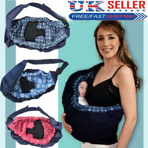 Newborn Baby Carrier Infant Sling Wrap Breastfeeding Adjustable  Nursing Pouch