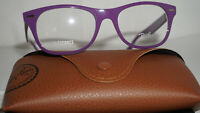RAY BAN Frame RX Eyeglasses New Purple Silver RB7032 5437 50 17 145