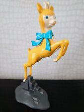 More details for vintage large babycham leaping fawn deer on stand advertising figure
