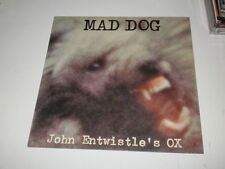 John Entwistle's Ox – MAD DOG -  LP 1975 MADE IN ITALY - DECCA RECORDS - NM/VG+