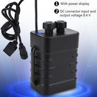 8.4V 6x18650 Waterproof Battery Pack Box House Case Cover For Bike Lamp Strap GG