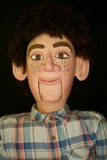 This Pro Ventriloquist Doll, Hard Dummy, Puppet,Vintage,Folk Art,Figure
