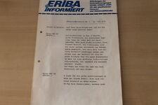 176726) Eriba infomiert... - Taiga 460 TK TR Odessa - Prospekt 06/1978
