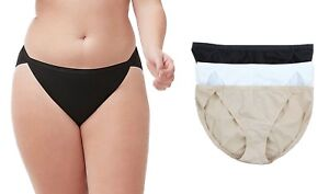 Lot of Lane Bryant Cacique Women's Sassy Cotton String Bikini Panty Underwear
