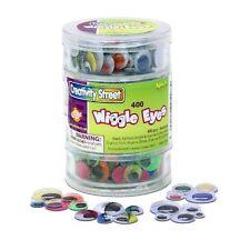 "Chenillekraft Stacking Jar Wiggle Eyes - 400 Piece[s] - 0.28"", 0.39"", 0.47"","